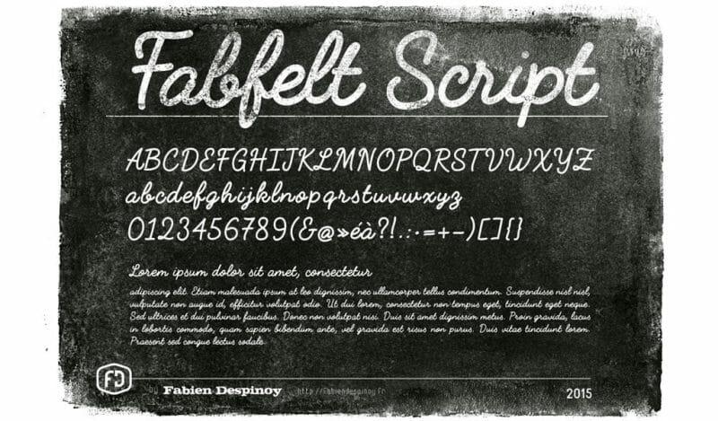 FabFelt Free Script Font