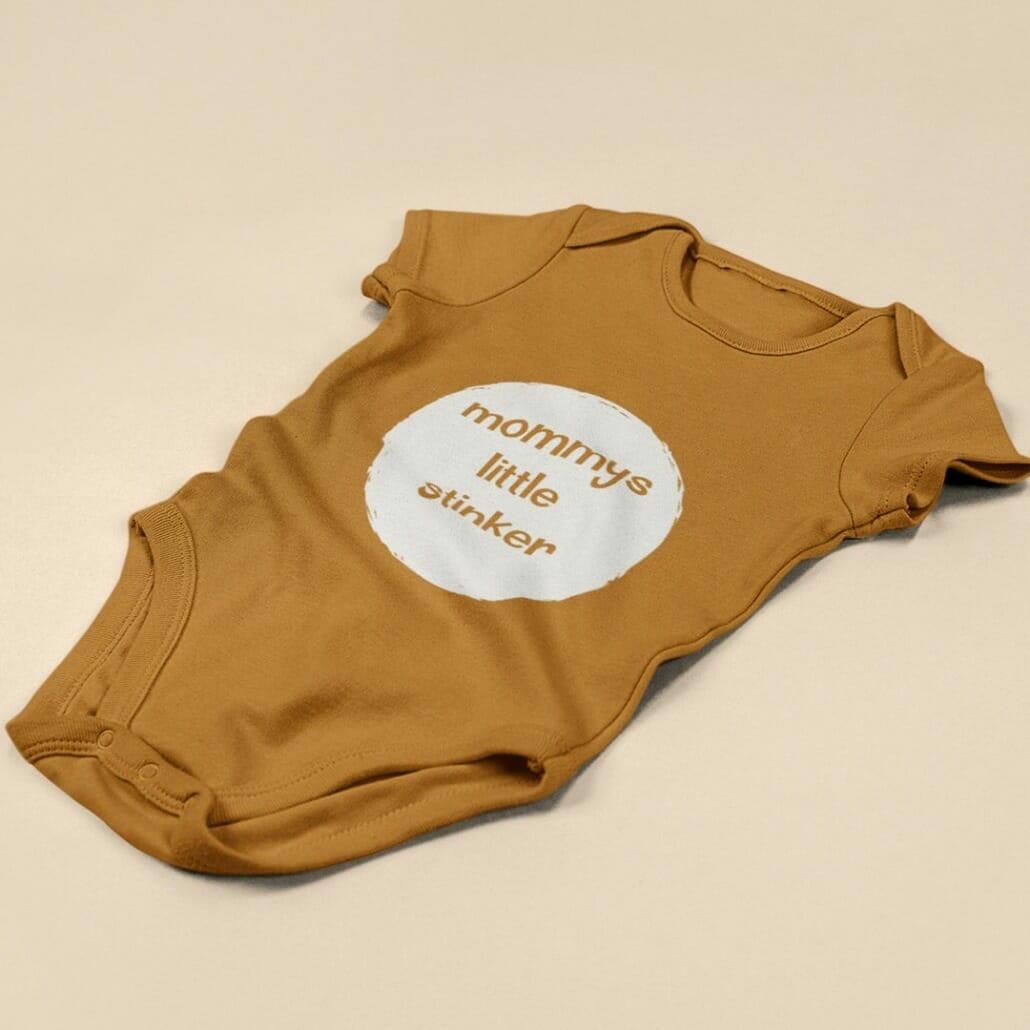 Heiter Retro Font on clothing