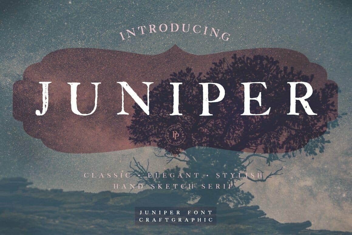 juniper Vintage Serif Font